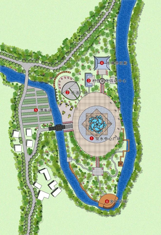 贵州塘约村美丽乡村总体规划