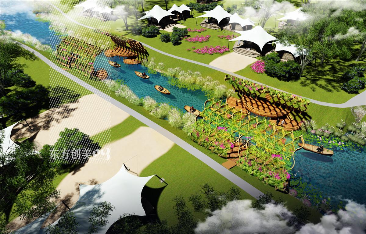 东方创美旅游景观规划设计院安徽巢湖半岛国家农业